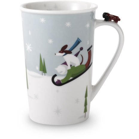 Starbucks Snow Day Mug, 8 oz