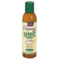 Africas Best Organincs Carrot Tea Tree Oil 6 oz.