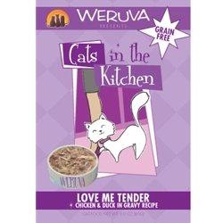 Weruva Cats In The Kitchen - Love Me Tender - Chicken & Duck In Gravy Recipe