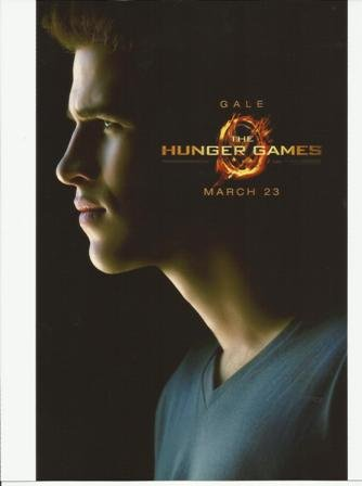 The Hunger Games Liam Hemsworth as Gale Hawthorne Poster 8 x 10 Photo