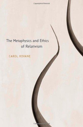 Metaphysics and Ethics of Relativism