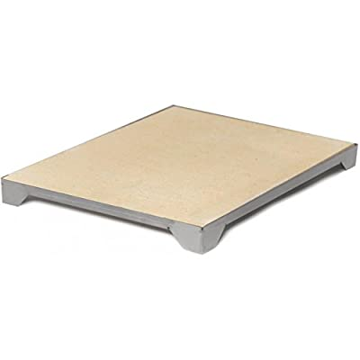 Blaze Professional 15-inch Ceramic Pizza Stone With Stainless Steel Tray - Blz-pro-pzst