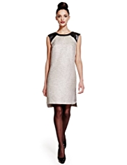 Limited Edition Shimmer Effect Shift Dress