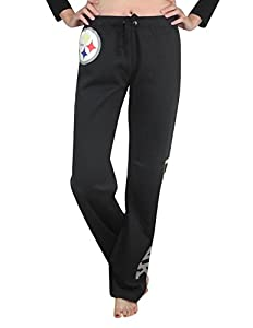 Pink Victoria's Secret Womens PITTSBURGH STEELERS Lounge / Pajama Pants at Steeler Mania