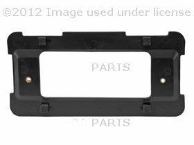 BMW e46 e53 e60 License Plate Bracket REAR base GENUINE tag mounting base oem by GENUINE BMW