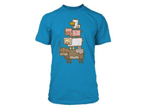 JINX-Camiseta-Azul-azul-X-Large