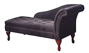 TMS Storage Chaise, Black