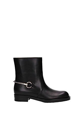 354003ARP001000-Gucci-Chaussure-mi-montantes-Femme-Cuir-Noir