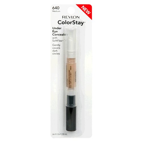Revlon ColorStay Under Eye Concealer with SoftFlex, Medium 640, 0.04 Ounce by Revlon