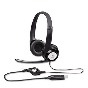 Logitech Clearchat Comfort Usb Headset W/Noise-Canceling Microphone Integrated Drivers