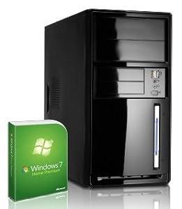 #4387 leiser Office / Multimedia COMPUTER | Dual-Core! AMD Trinity A4 5300 2x3400 GHz | 4096MB DDR3 1333 | 750GB S-ATA II HDD | AMD Radeon HD 7480 2048 MB DVI/VGA mit DirectX11 Technology | 22x Dual Layer DVD-Brenner | All-In One Card-Reader | 6 USB-Anschlüsse | 5.1 Sound | Windows7 Home Premium 64 (inkl. Upgrade-Möglichkeit auf Windows8 Pro für nur 22,- EUR) | Office 2010 Starter mit Word und Excel | Avira AntiVirus 2013