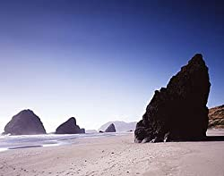 Astounding Oregon Coastline - Distinctive 16x20-inch Photographic Print by Carol M. Highsmith