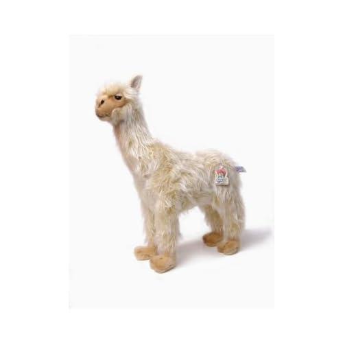 Hansa Lady Llama Stuffed Plush Animal, Standing