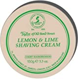 Taylor of Old Bond Street Lemon and Lime Shaving Cream Screw Tread Pot 150gr