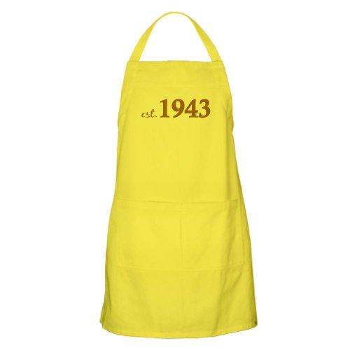 Cafepress Est 1943 Born In 1943 Apron - Standard