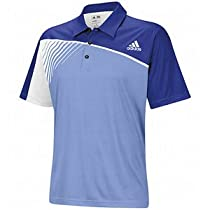 Adidas Mens The Open Championship Polos Large Bluebonnet/Periwinkle