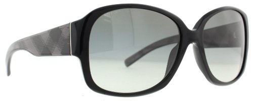 Burberry  Burberry BE4128 Sunglasses-3001/11 Black (Gray Gradient Lens)-59mm