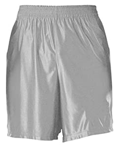 Buy Alleson DZP7Y Youth Dazzle Basketball Shorts SI - SILVER YL