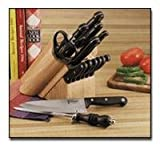 Spice up your life with our Slitzer 16pc Cutlery Set in Wood Block