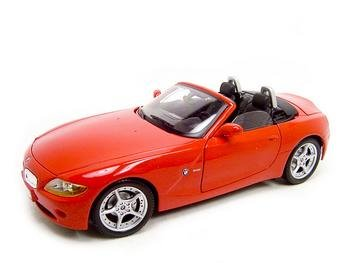 Buy Bmw Z4 Red 1:18 Diecast Model