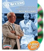 All Access North Carolina Basketball Practice with Roy Williams (DVD) by Championship Productions