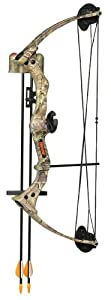 Bear Warrior III Realtree Camo Bow Set - Right Handed by Bear Archery