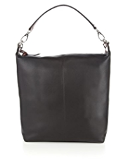 M&S Collection Leather Twin Strap Hobo Bag