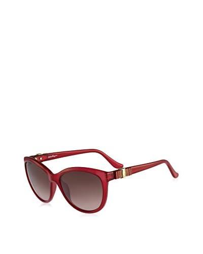 FERRAGAMO Gafas de Sol Sf760S (57 mm) Rojo