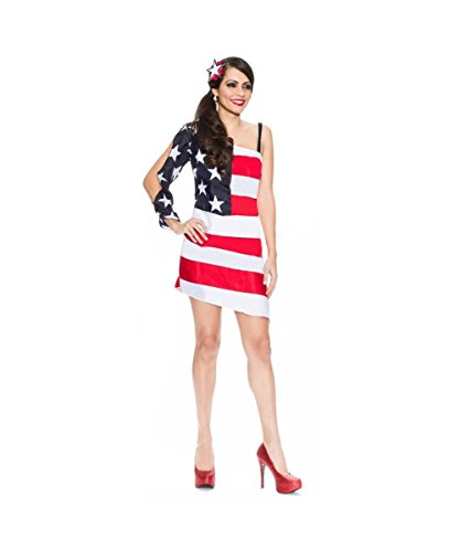 Star Spangled Sweetie American Flag Womens 4th of July Dress Costume