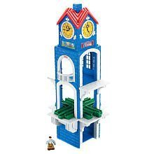 GeoTrax rail and road system: High Chimes Clock Tower with Figure (Geotrax Figures compare prices)