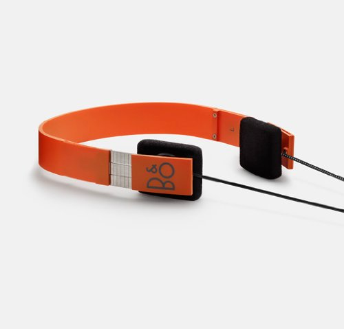 Bang and Olufsen Form 2 Headphones - Orange