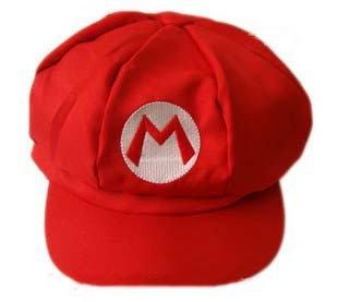 可愛い!! スーパーマリオ なりきり帽子 フリーサイズ