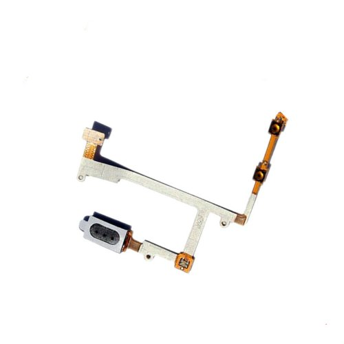 Verizon Samsung Galaxy S3 I535 ~ Earpiece Ear Piece Earphone Ear Speaker Flex Cable Ribbon Speaker Earpiece Audio Sound Receiver Unit + Volume Side Keys Key Button Flex Cable For Verizon Samsung Galaxy S3 I535 With Free Tools