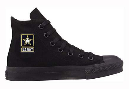 Converse Chuck Taylor All Star Hi Top Custom with US Army Logo - Buy
