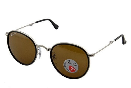 Ray-Ban-Mens-ORB3517-Polarized-Round-Sunglasses