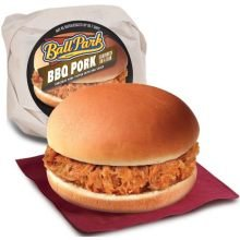 Ball Park Barbecue Pulled Pork Sandwich On A Bun, 3.8 Ounce -- 12 Per Case.