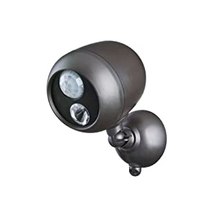 Click to buy LED Outdoor Lighting: Mr Beams Wireless LED Spotlight with Motion Sensor and Photocell from Amazon!