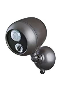 Mr Beams MB360 Wireless LED Spotlight with Motion Sensor and Photocell – Weatherproof – Battery Operated – 140 Lumens
