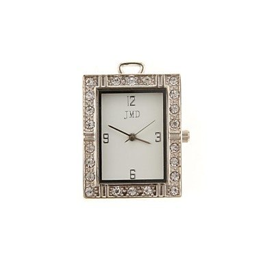 Zcl Zp 8Gb Square Watch Pattern Crystal Jewelry Style With Clock Usb Flash Drive