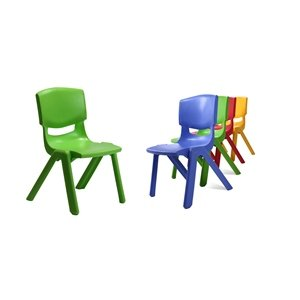 Playgro Plastic Moulded Chair - Blue