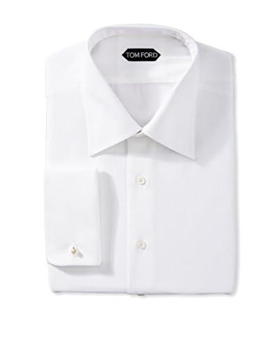 Tom Ford Men's Diamond Jacquard Dress Shirt