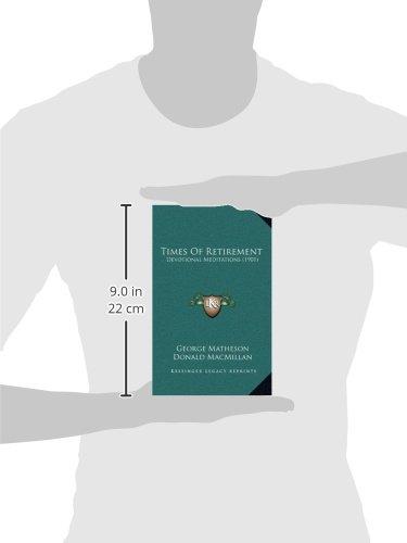 Times of Retirement: Devotional Meditations (1901)