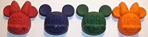 (40) Disney Mickey Mouse & Minnie Mouse Crayons- Birthday Party Favors Supplies- 10 Sets of 4 Crayons