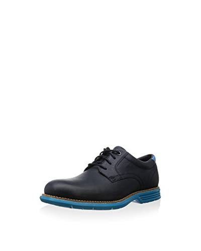 Rockport Scarpa Stringata Tm Plain Toe  [Blu Navy]