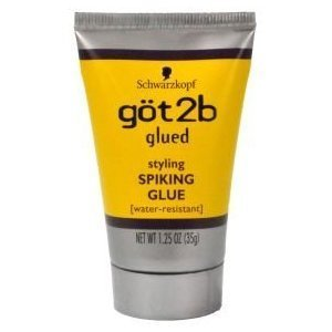 ... GLUE 1.25 oz. (Pack of 3) TRAVEL SIZE : Hair Styling Products : Beauty