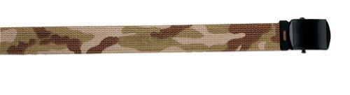 4382 Tri-Color Desert Camouflage Web Belt - 54 Inch
