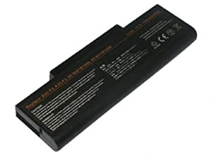 11.10V,6600mAh,Li-ion,Replacement Laptop Battery for ASUS F2 Series,ASUS F3 Series, ASUS M51 Series, ASUS Z53 Series,(Fits selected models only),Compatible Part Numbers: 90-NI11B1000, 90-NI11B1000Y, 90-NI11B2000Y, 90-NIA1B1000, A32-F3, A33-F3,