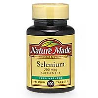 Nature Made Selenium  Mcg  Tablets