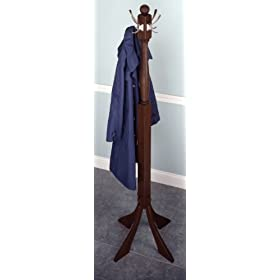 coat tree with nickle hooks by winsome wood beauty amazoncom alba pmclas chromy