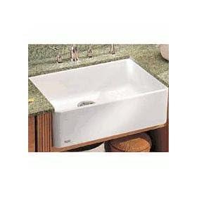 Franke : MHK11028BT 28 Single Bowl Fireclay Sink